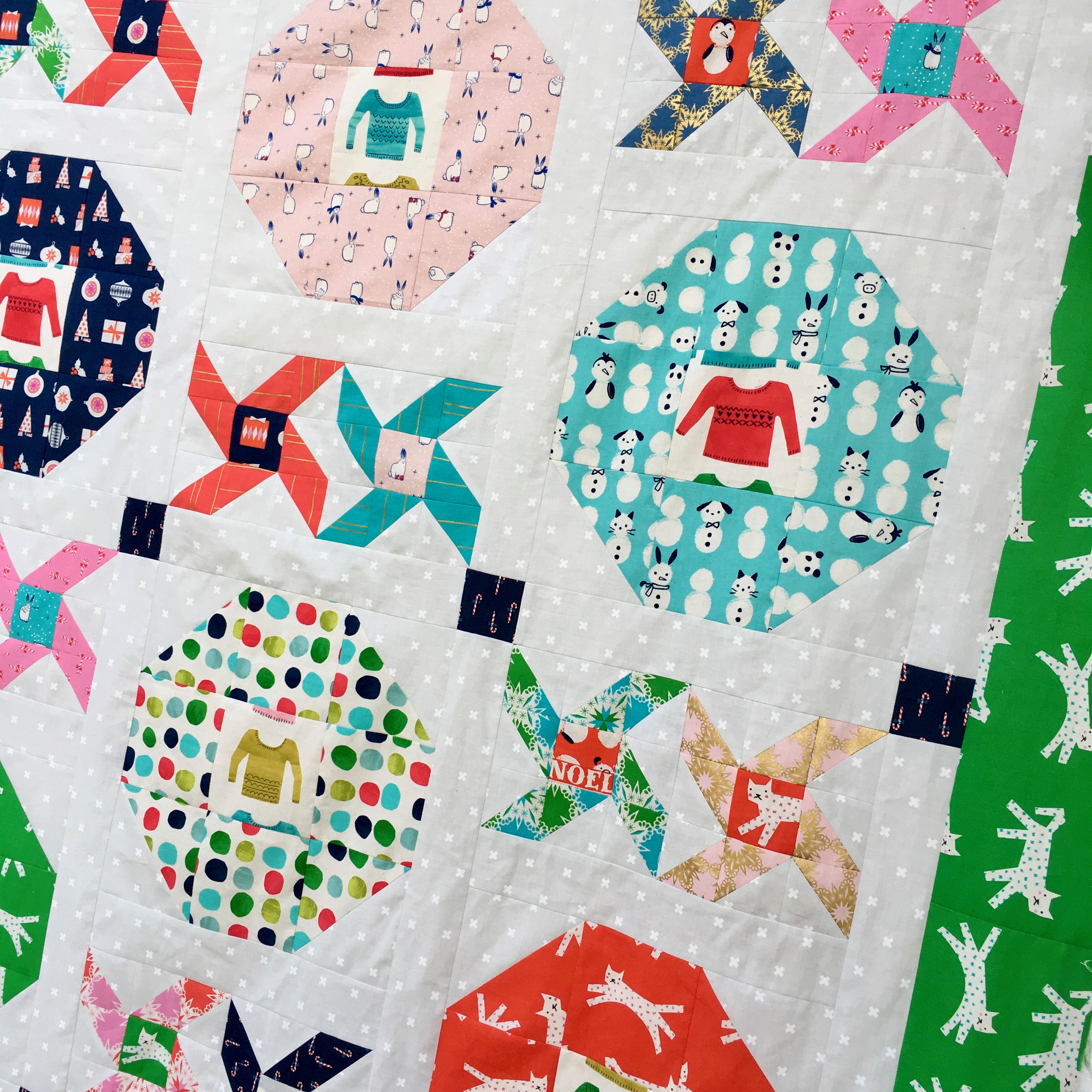 christmas party quilt13