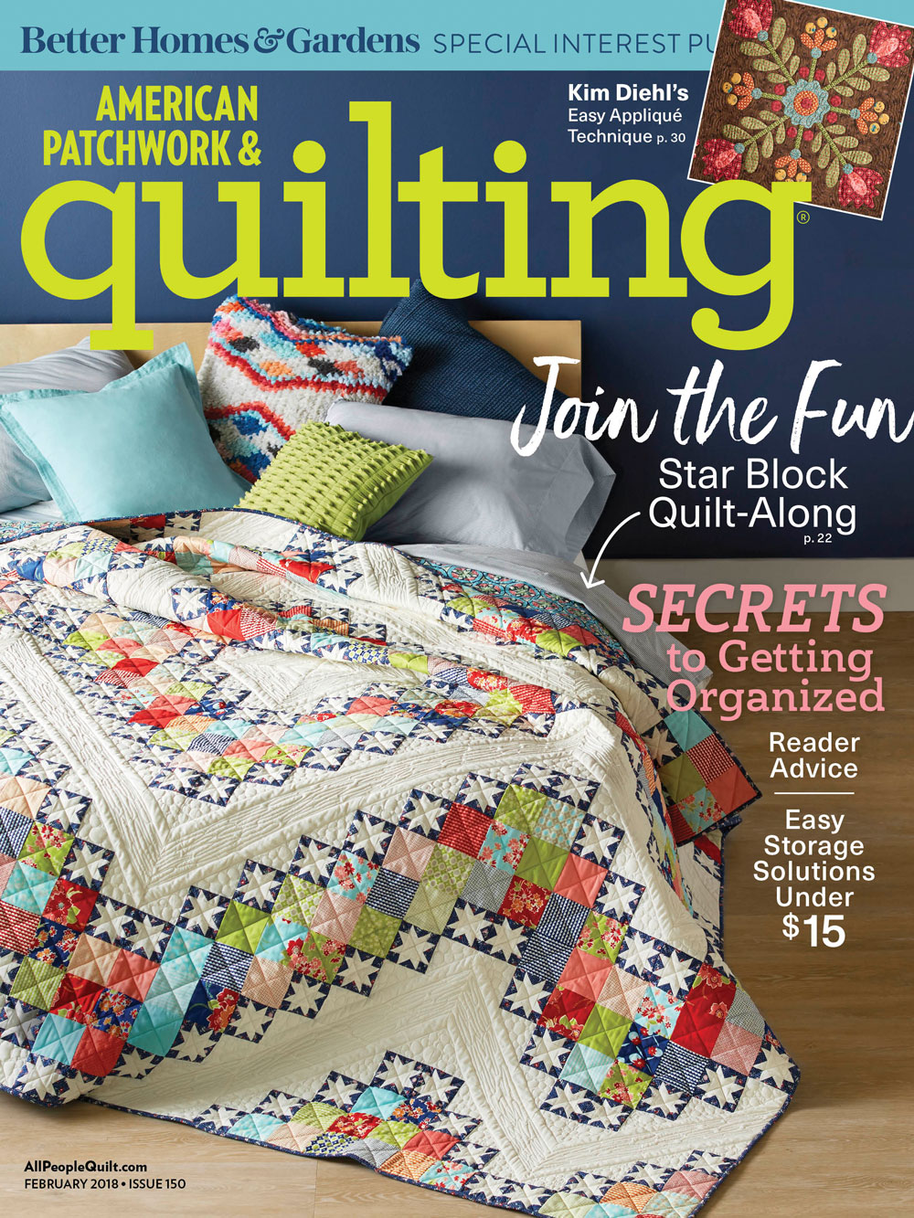 American Patchwork Amp Quilting Feb 2018 Edition