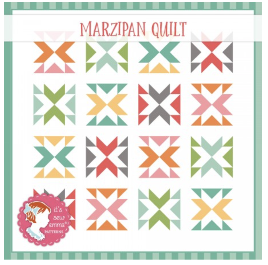 The Cake Mix Quilt Book Marzipan Quilt