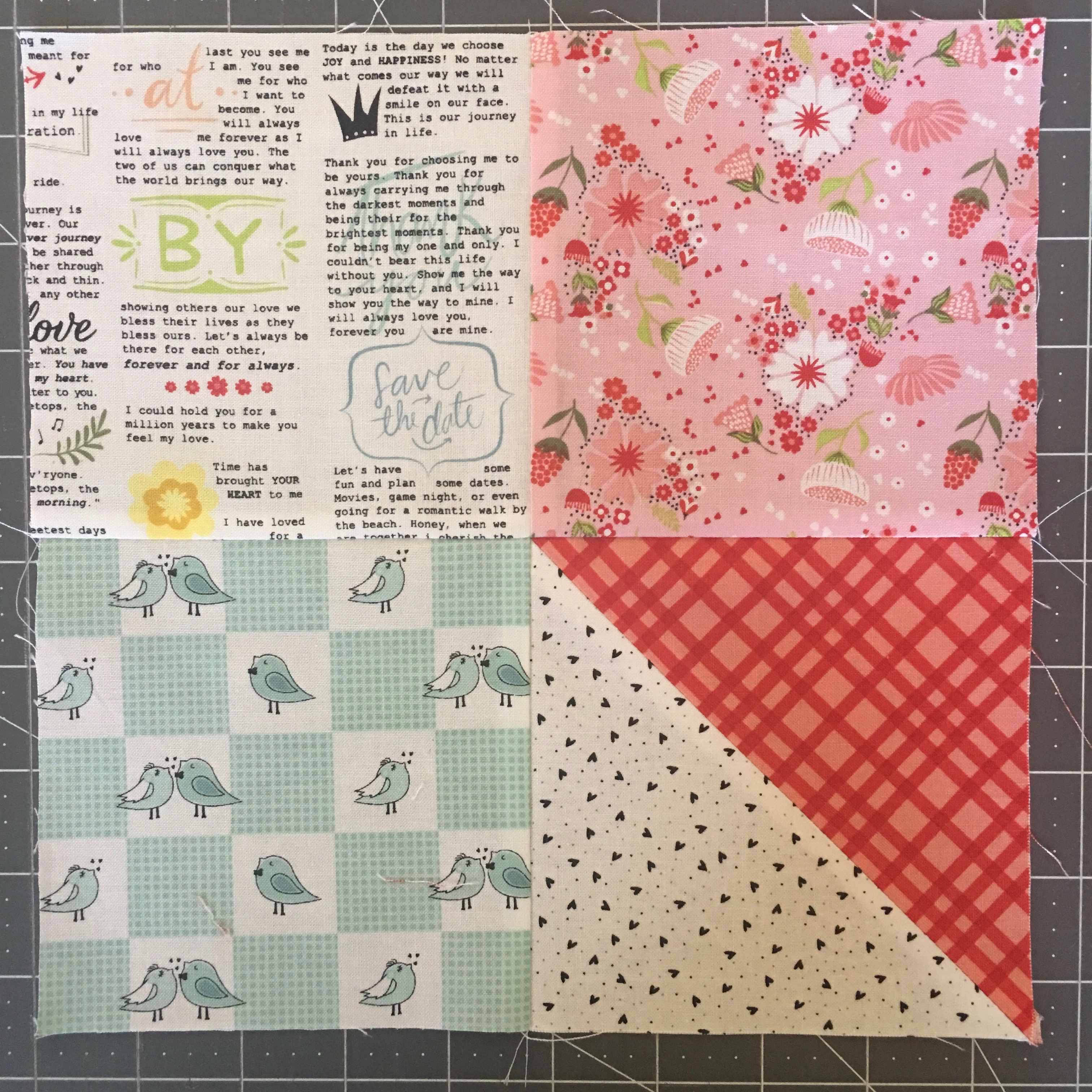 Pinwheels Patches Quilt Tutorial