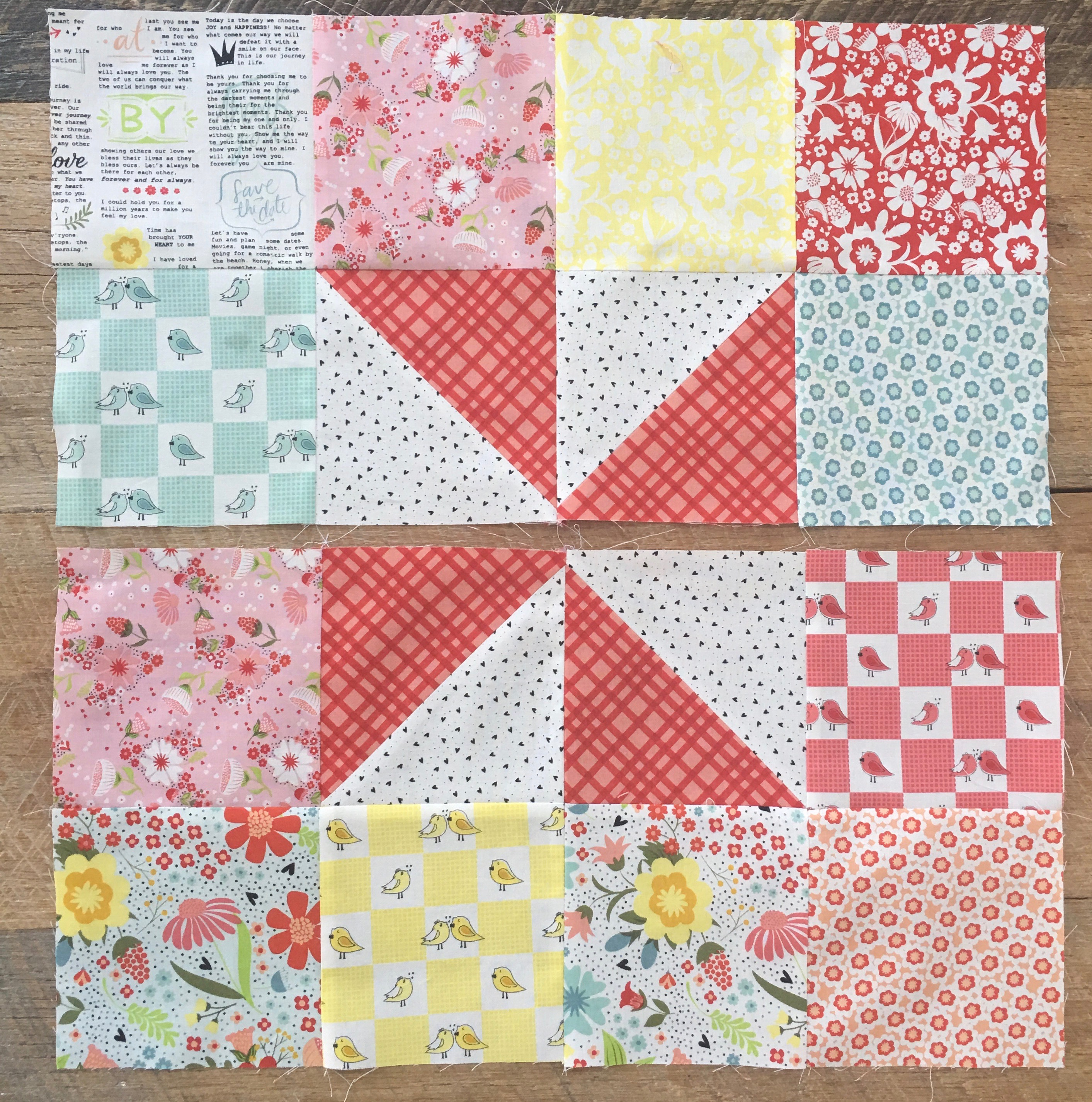 Pinwheels & Patches Quilt Tutorial