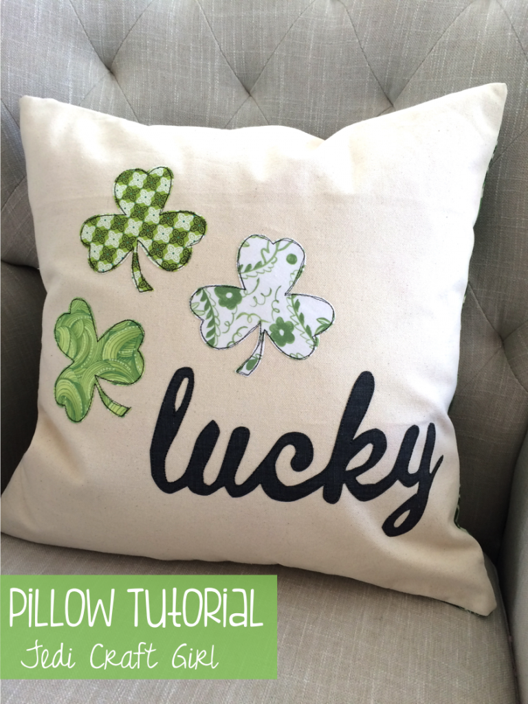 lucky pillow tutorial